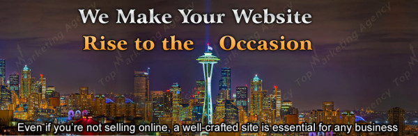 What is involved in website design in Seattle?